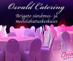 Osvald Catering Arigato Sündmus- ja Meelelahutuskeskuses